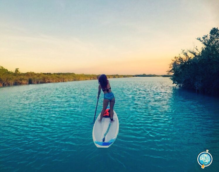 stand up paddle bacalar